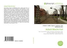 Portada del libro de Arbeit Macht Frei