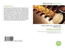Majorana Prize的封面
