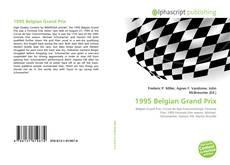 1995 Belgian Grand Prix kitap kapağı