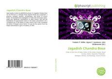 Buchcover von Jagadish Chandra Bose