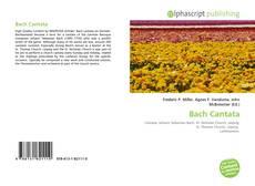 Bach Cantata的封面