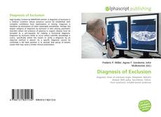 Couverture de Diagnosis of Exclusion
