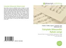 Capa do livro de Fairytale (Alexander Rybak song)