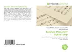 Copertina di Fairytale (Alexander Rybak song)