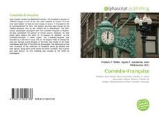Borítókép a  Comédie-Française - hoz