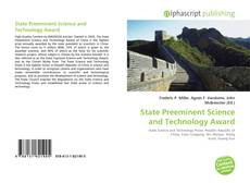 Buchcover von State Preeminent Science and Technology Award
