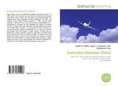 Capa do livro de Executive Decision (Film)