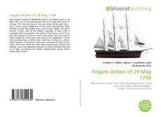 Bookcover of Frigate Action of 29 May 1794