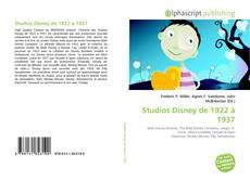 Copertina di Studios Disney de 1922 à 1937