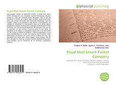 Bookcover of Royal Mail Steam Packet Company