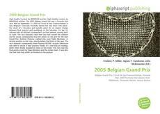 Capa do livro de 2005 Belgian Grand Prix