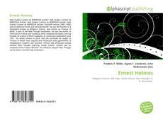 Bookcover of Ernest Holmes