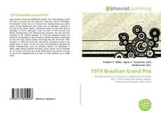 1979 Brazilian Grand Prix kitap kapağı