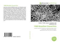 1989 Brazilian Grand Prix kitap kapağı