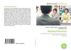 Capa do livro de Anatoly Khazanov