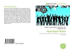 Обложка Apocalypse Meow