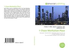 Bookcover of 1 Chase Manhattan Plaza