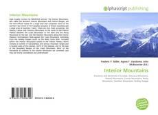 Portada del libro de Interior Mountains
