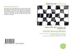 Bookcover of British Racing Motors