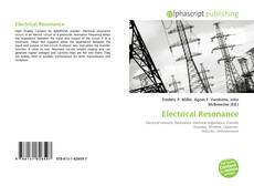 Bookcover of Electrical Resonance