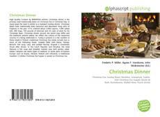 Copertina di Christmas Dinner
