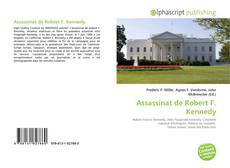 Buchcover von Assassinat de Robert F. Kennedy