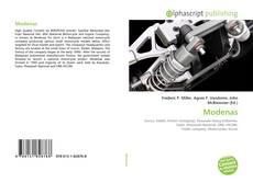 Buchcover von Modenas