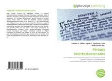 Capa do livro de Période Intertestamentaire