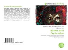 Couverture de Histoire de la Psychanalyse