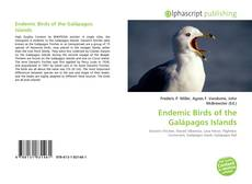 Bookcover of Endemic Birds of the Galápagos Islands