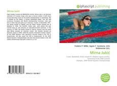 Capa do livro de Mirna Jukić