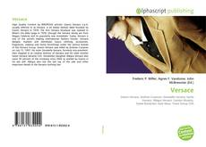 Bookcover of Versace