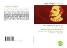 Обложка Left-wing nationalism