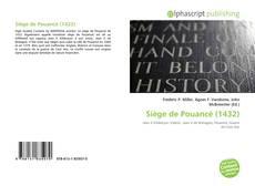 Bookcover of Siège de Pouancé (1432)