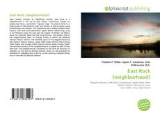 Bookcover of East Rock (neighborhood)