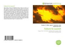 Bookcover of Failure to Launch