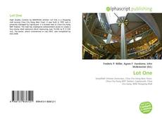 Bookcover of Lot One