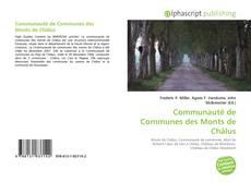 Bookcover of Communauté de Communes des Monts de Châlus