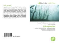 False prophet kitap kapağı