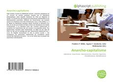 Portada del libro de Anarcho-capitalisme