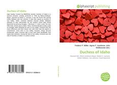 Copertina di Duchess of Idaho