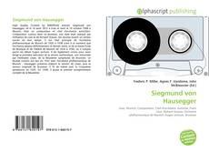 Buchcover von Siegmund von Hausegger