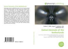 Buchcover von Extinct Animals of the Netherlands