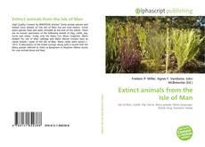 Buchcover von Extinct animals from the Isle of Man