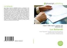 Bookcover of Luc Boltanski