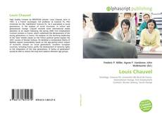 Louis Chauvel kitap kapağı