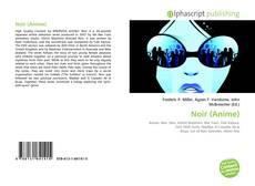 Noir (Anime) kitap kapağı
