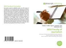 Bookcover of MSU Faculty of Journalism