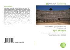 Buchcover von Epic Theatre