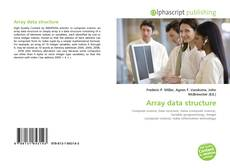 Bookcover of Array data structure